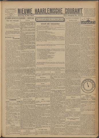 Nieuwe Haarlemsche Courant 1923-05-14