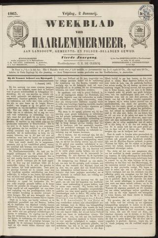 Weekblad van Haarlemmermeer 1863-01-02