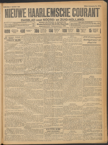 Nieuwe Haarlemsche Courant 1914-03-03