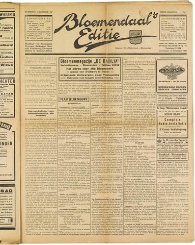 Bloemendaal's Editie 1927-10-08