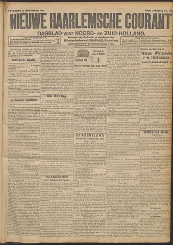 Nieuwe Haarlemsche Courant 1914-11-14