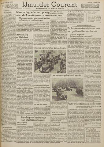 IJmuider Courant 1948-04-03