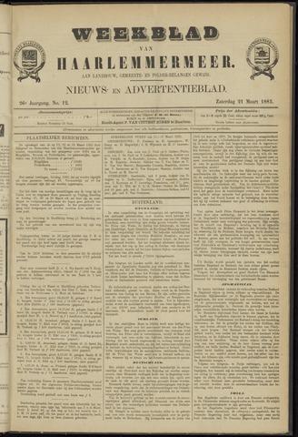 Weekblad van Haarlemmermeer 1885-03-21