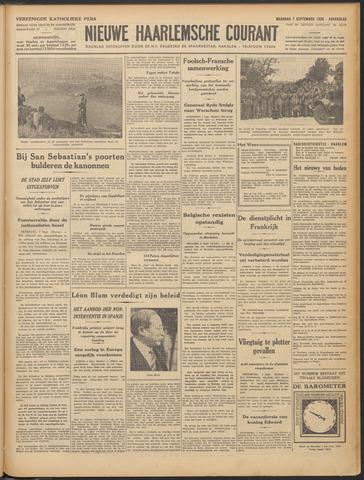 Nieuwe Haarlemsche Courant 1936-09-07