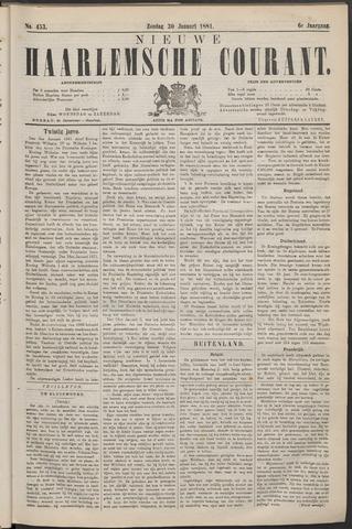 Nieuwe Haarlemsche Courant 1881-01-30