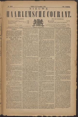 Nieuwe Haarlemsche Courant 1892-12-23
