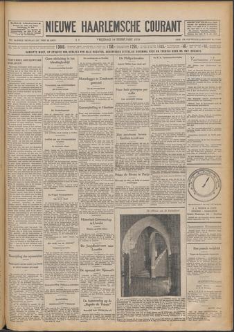 Nieuwe Haarlemsche Courant 1930-02-14