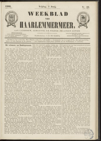 Weekblad van Haarlemmermeer 1860-06-01