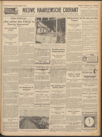Nieuwe Haarlemsche Courant 1939-08-21