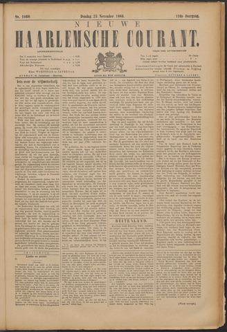 Nieuwe Haarlemsche Courant 1886-11-25