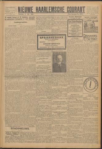 Nieuwe Haarlemsche Courant 1924-07-05