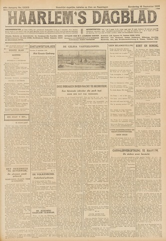 Haarlem's Dagblad 1926-09-16