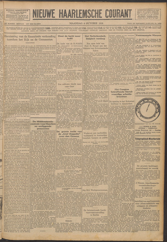 Nieuwe Haarlemsche Courant 1928-10-08