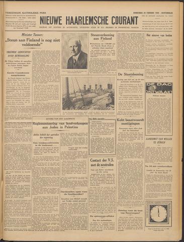 Nieuwe Haarlemsche Courant 1940-02-29