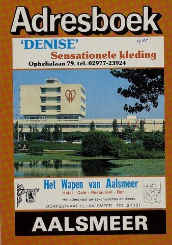 Adresboeken Aalsmeer 1985