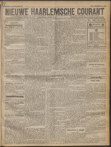 Nieuwe Haarlemsche Courant 1919-11-22