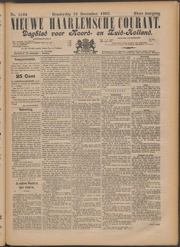 Nieuwe Haarlemsche Courant 1903-12-31