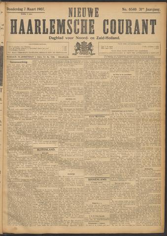 Nieuwe Haarlemsche Courant 1907-03-07