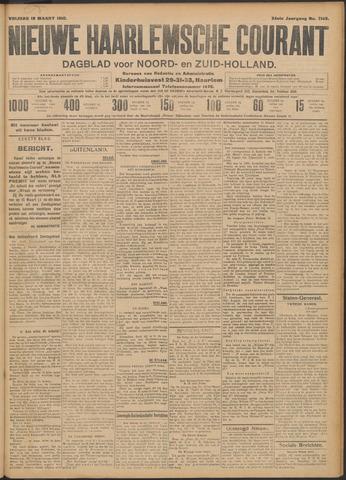 Nieuwe Haarlemsche Courant 1910-03-18