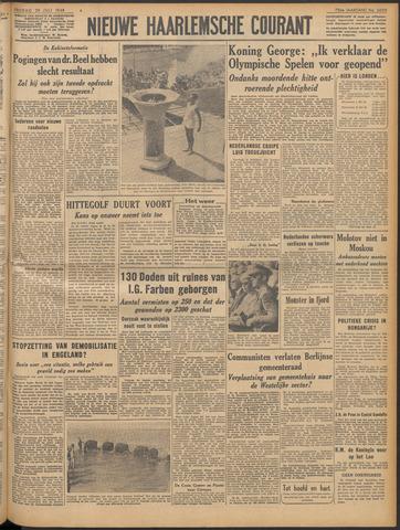 Nieuwe Haarlemsche Courant 1948-07-30
