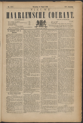Nieuwe Haarlemsche Courant 1890-03-19