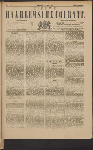Nieuwe Haarlemsche Courant 1895-07-24
