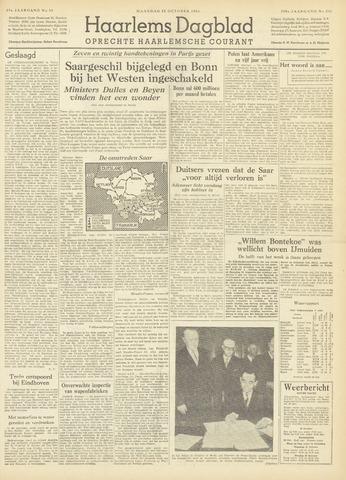 Haarlem's Dagblad 1954-10-25