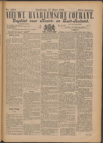 Nieuwe Haarlemsche Courant 1904-03-17