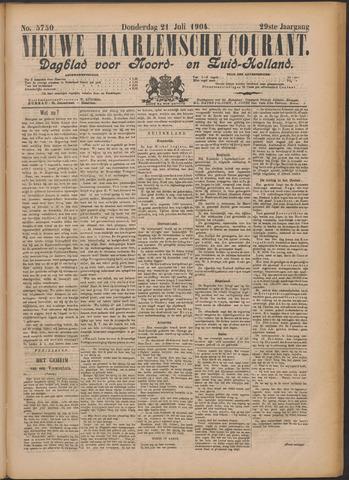 Nieuwe Haarlemsche Courant 1904-07-21