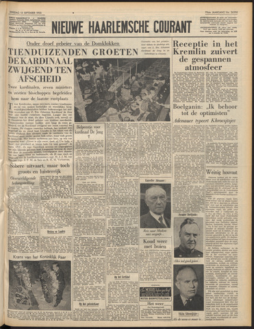Nieuwe Haarlemsche Courant 1955-09-13