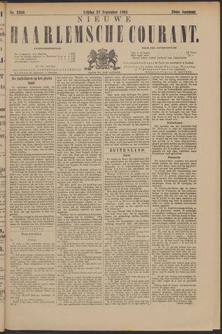 Nieuwe Haarlemsche Courant 1895-09-27
