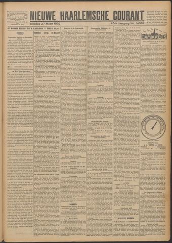 Nieuwe Haarlemsche Courant 1923-03-27
