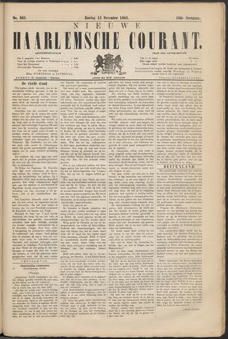 Nieuwe Haarlemsche Courant 1885-12-13