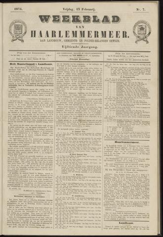 Weekblad van Haarlemmermeer 1874-02-13