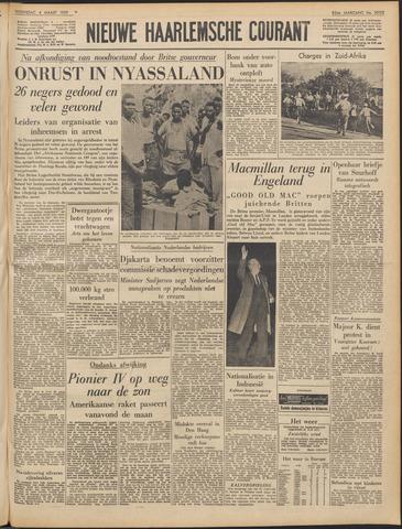 Nieuwe Haarlemsche Courant 1959-03-04