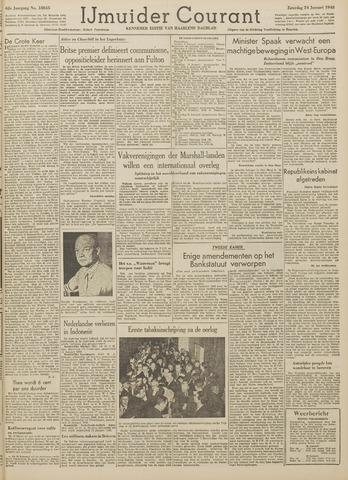 IJmuider Courant 1948-01-24