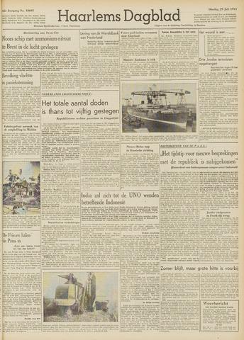 Haarlem's Dagblad 1947-07-29