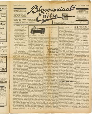 Bloemendaal's Editie 1928-10-20