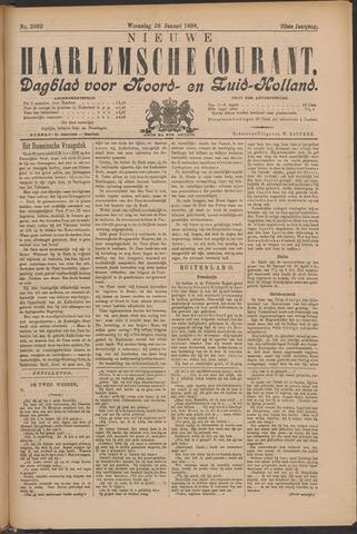 Nieuwe Haarlemsche Courant 1898-01-26