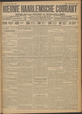 Nieuwe Haarlemsche Courant 1913-09-25