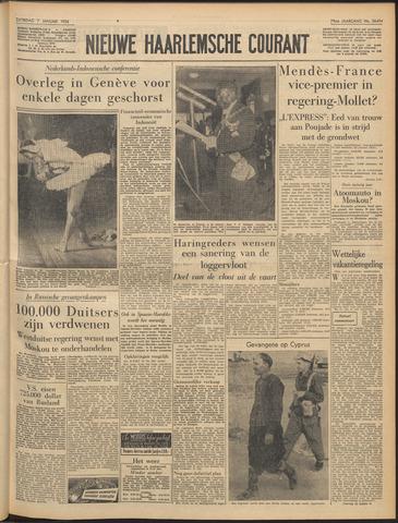 Nieuwe Haarlemsche Courant 1956-01-07