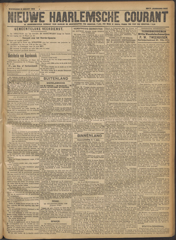 Nieuwe Haarlemsche Courant 1918-03-13