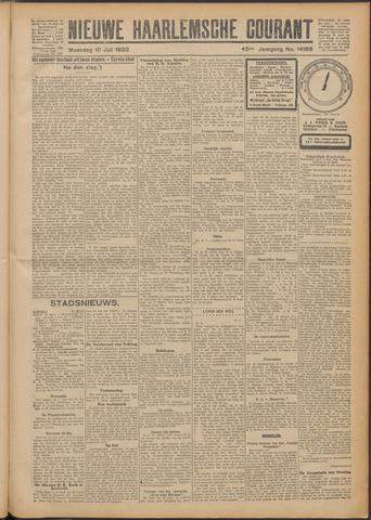 Nieuwe Haarlemsche Courant 1922-07-10