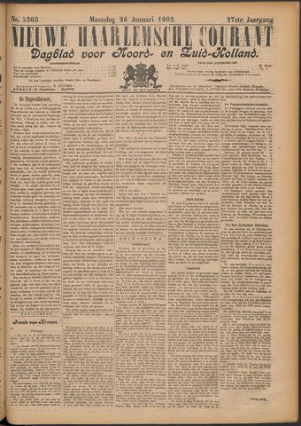 Nieuwe Haarlemsche Courant 1903-01-26