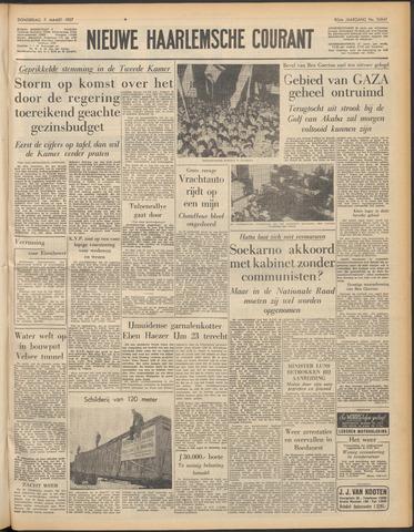 Nieuwe Haarlemsche Courant 1957-03-07