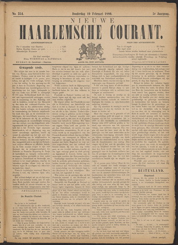Nieuwe Haarlemsche Courant 1880-02-19