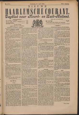 Nieuwe Haarlemsche Courant 1901-04-25