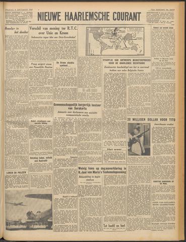 Nieuwe Haarlemsche Courant 1949-09-09