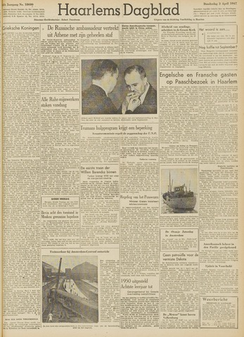 Haarlem's Dagblad 1947-04-03