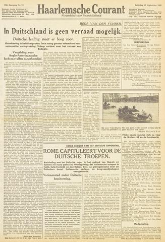 Haarlemsche Courant 1943-09-11